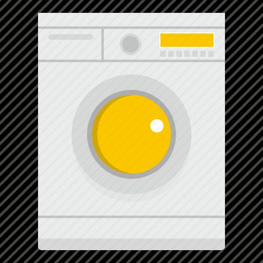 appliance, clean, equipment, housework, laundry, machine, wash icon