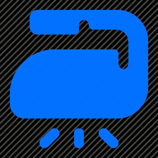 iron, laundry, steam icon