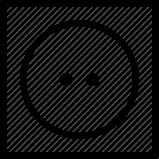 clear, dry, heat, medium, tumble icon