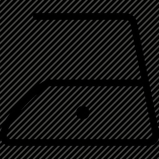 electronics, flatiron, iron, low, temperature icon