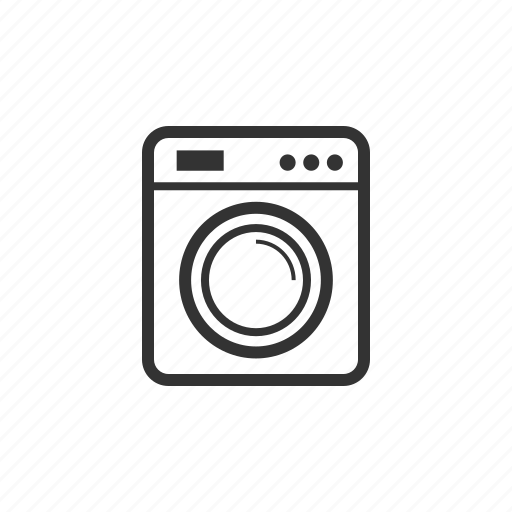 appliance, cleaning, dryer, laundry, machine icon