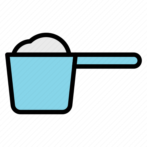 Cleaning, detergent, laundry, scoop, washing icon - Download on Iconfinder