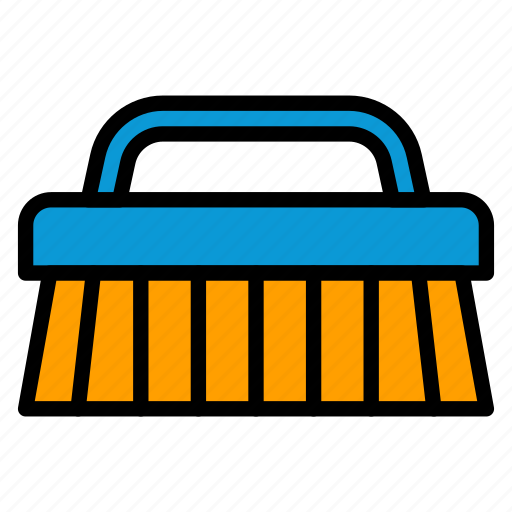 Brush, clean, cleaning, laundry, washing icon - Download on Iconfinder