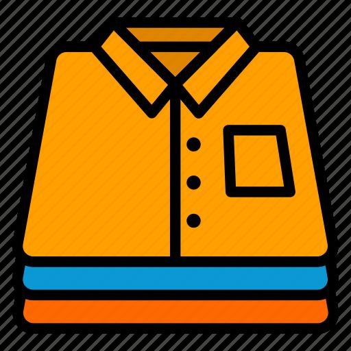 clothes, fashion, folding, laundry, shirt icon