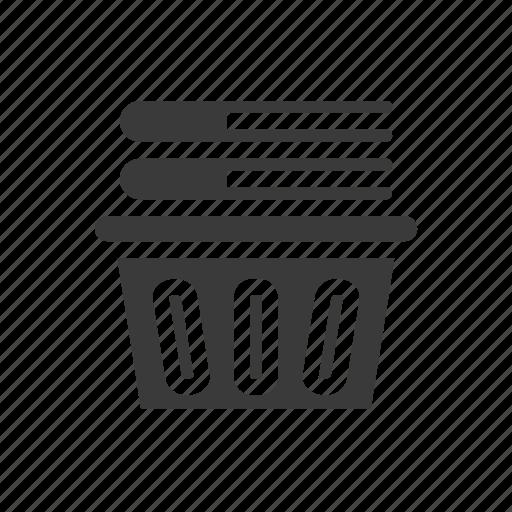 basket, bucket, clean, hamper, laundry, soap, wash icon