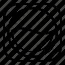 expand, laundry, laundry machine, line1, logo, square, ui icon