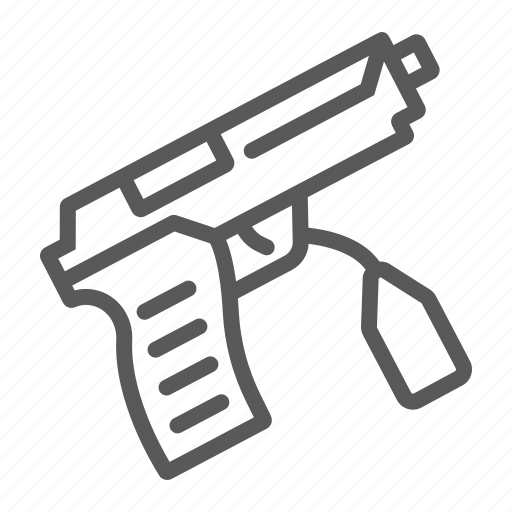 Crime, evidence, gun, investigation, law, pistol, weapon icon - Download on Iconfinder
