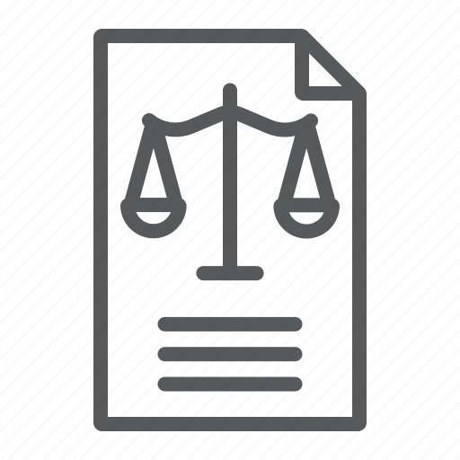 Declaration, document, law, legal, office, paper icon - Download on Iconfinder