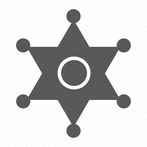 Badge, law, officer, police, sheriff, sign icon - Download on Iconfinder