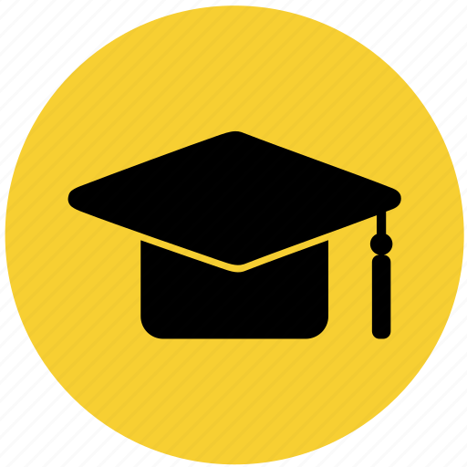 College, education, graduation hat, hat, law, school icon - Download on Iconfinder