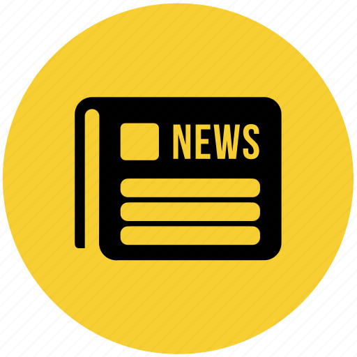 journal, law, magazine, media, news, newspaper icon