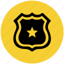 agent, government, institute, law, legal, police, security icon