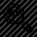 court, judgement, law, magnifier icon
