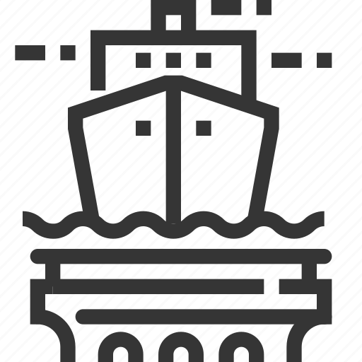 admiralty law, justice, law, national border, sail, sea, ship icon
