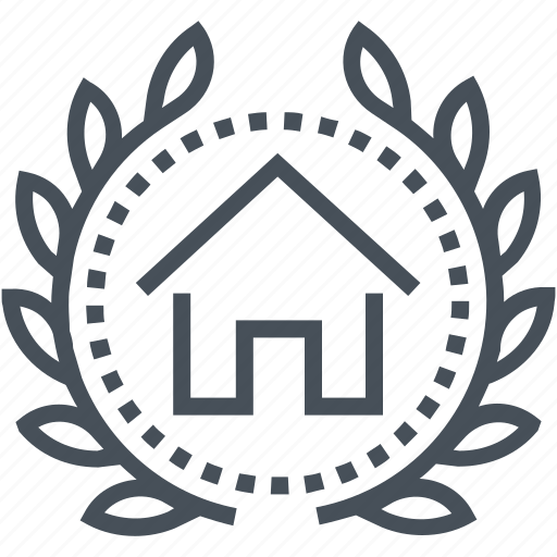 court, house, law, legal, property, real estate, trial icon