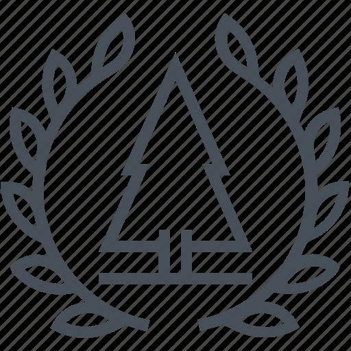 court, earth, environment, environmental, law, legal, tree icon