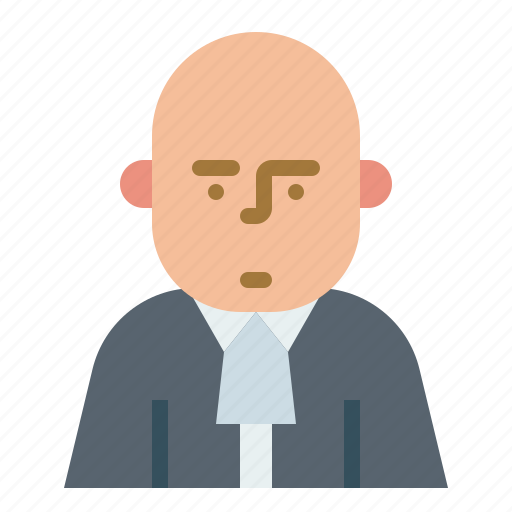 attorney, avata, counselor, lawyer, prosecutor icon