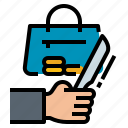 crime, knife, murder, murderer, weapon icon