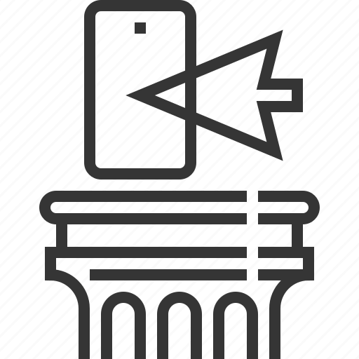 cursor, internet, justice, mobile phone, technology law icon