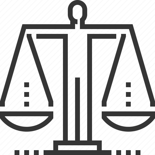 court, equality, ethics, human rights, judge, law, scale icon