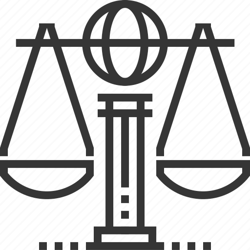 equality, global law, international, justice, law, measure, scale icon