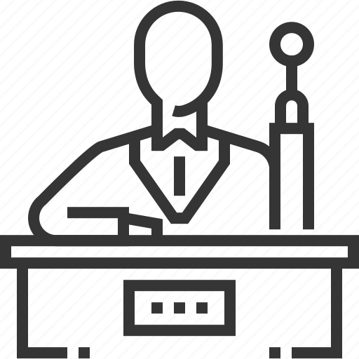 court, decision, hammer, judge, justice, trial, tribunal icon