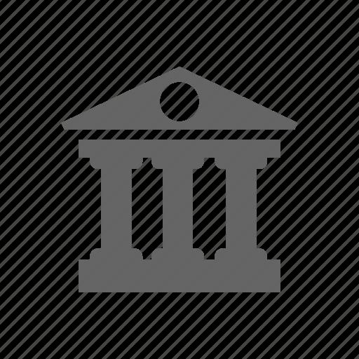 building, court icon