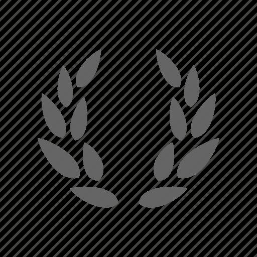 laurel wreath, lauren icon