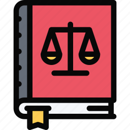 constitution, court, crime, law, lawyer, police icon