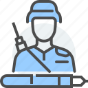 armed, citizens, civilian, justice, law, military, soldier icon