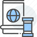 gavel, government, immigration, justice, law, naturalization, passport icon