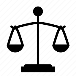 judge, judgement, law, lawyer, scale icon
