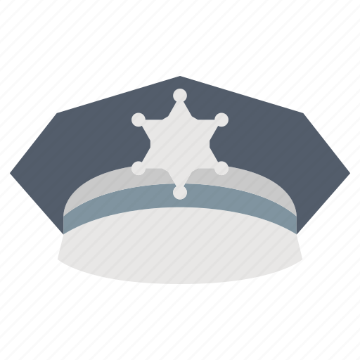 cap, hat, law & police, police icon