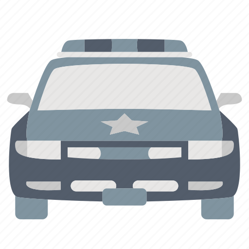 automobile, law & police, police, transportation, vehicle icon