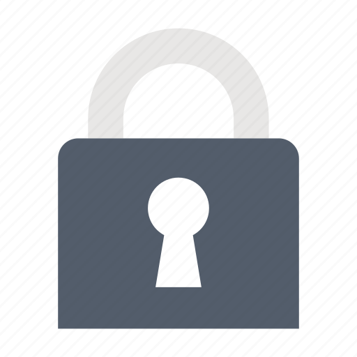 law & police, lock, padlock, protection, safety icon