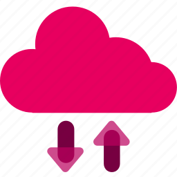 cloud, computer, internet, layer, wifi icon
