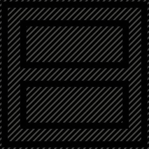 layout design, pattern, two rows layout, webpage pattern icon
