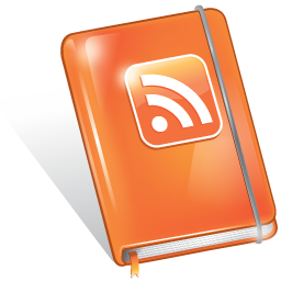 book, feed, rss icon