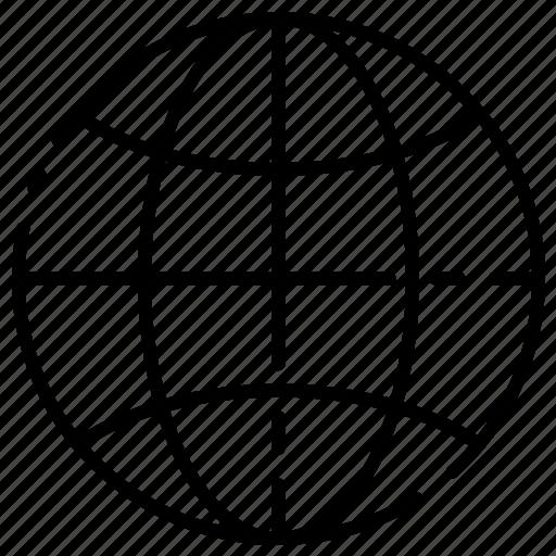 Globe, internet, world icon - Download on Iconfinder