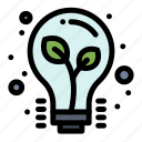bulb, light, tips icon