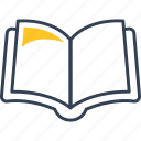 book, learning, student icon