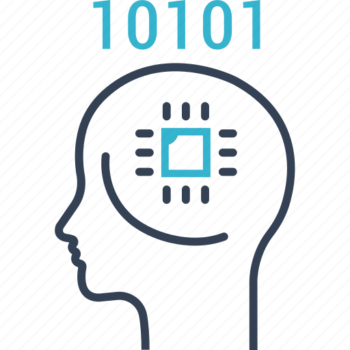computer, information, learning icon