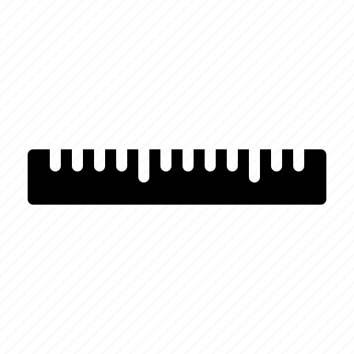 education, physics, ruler, school, science icon