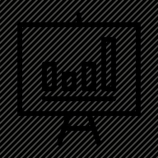bar, chart, education, physics, school, science icon