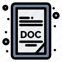 doc, extension, file