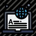 international, internet, learning, online