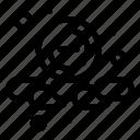 smaller, remove, less, web icon