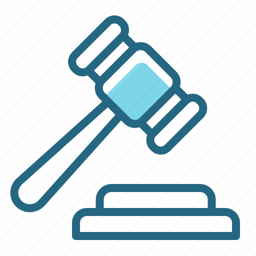 Court, gavel, judge, law icon - Download on Iconfinder