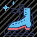 ice, rink, skate, skating
