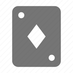 card, diamonds icon